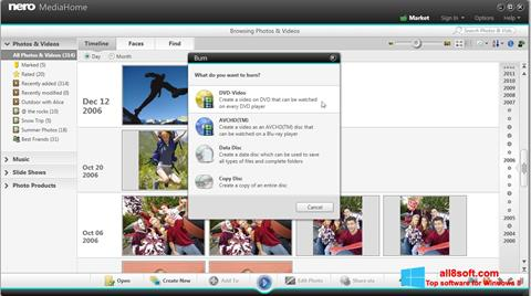 Screenshot Nero MediaHome para Windows 8