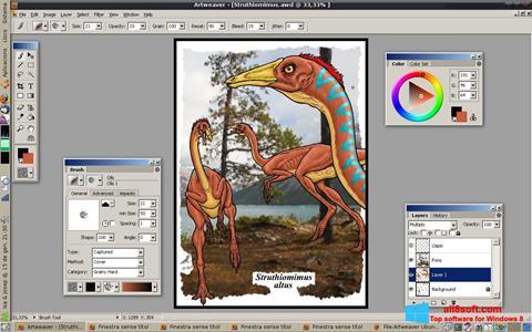 Screenshot Artweaver para Windows 8