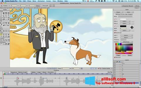 Screenshot Anime Studio para Windows 8