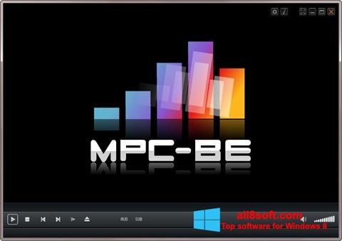 Screenshot MPC-BE para Windows 8