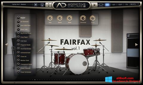Screenshot Addictive Drums para Windows 8