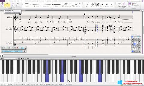 Screenshot Sibelius para Windows 8