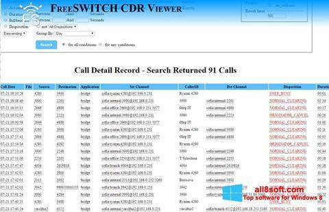 Screenshot CDR Viewer para Windows 8