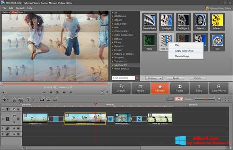 Screenshot Movavi Video Suite para Windows 8