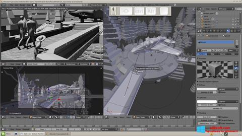 Screenshot Blender para Windows 8