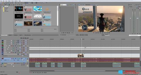 Screenshot Sony Vegas Pro para Windows 8