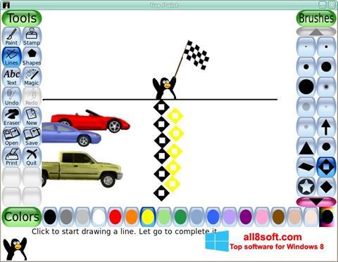 Screenshot Tux Paint para Windows 8