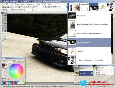 Screenshot Paint.NET para Windows 8