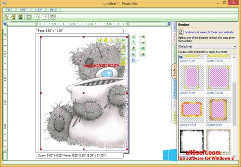 Screenshot PhotoMix Collage para Windows 8