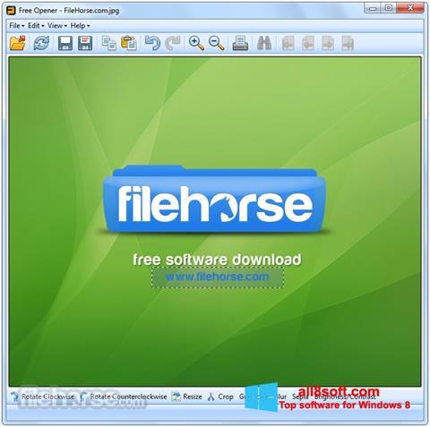 Screenshot Free Opener para Windows 8