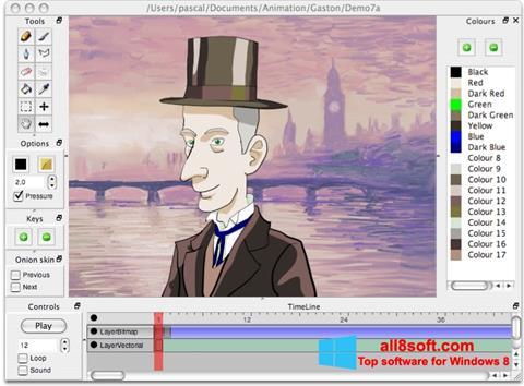Screenshot Pencil para Windows 8