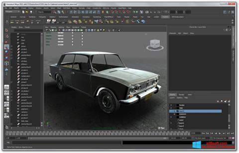 Screenshot Autodesk Maya para Windows 8