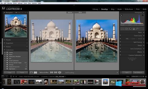 Screenshot Adobe Photoshop Lightroom para Windows 8