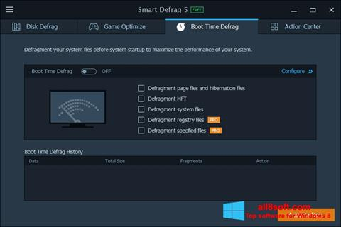 Screenshot Smart Defrag para Windows 8