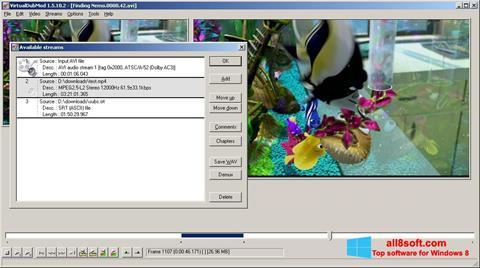 Screenshot VirtualDubMod para Windows 8