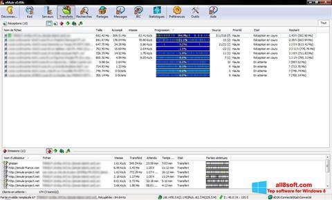 Screenshot eMule para Windows 8