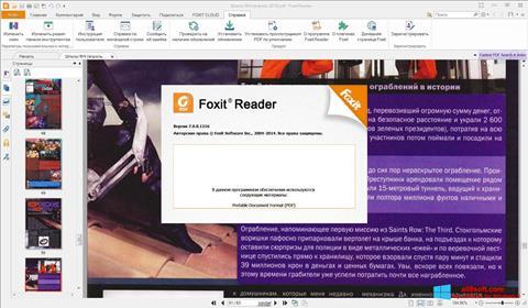 Screenshot Foxit Reader para Windows 8