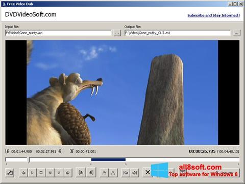 Screenshot Free Video Dub para Windows 8
