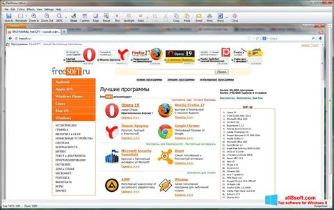 Screenshot FastStone Capture para Windows 8