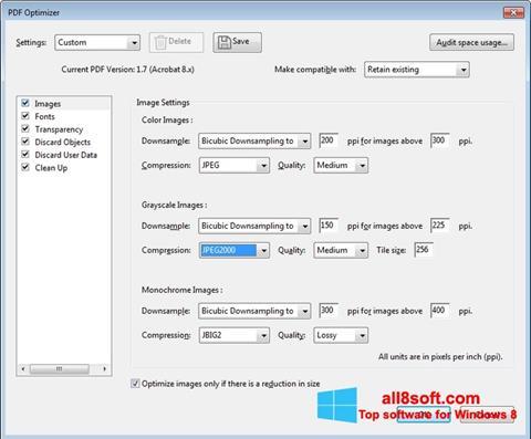 Screenshot Adobe Acrobat Pro DC para Windows 8