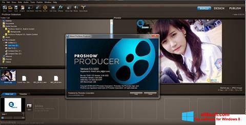 Screenshot ProShow Producer para Windows 8
