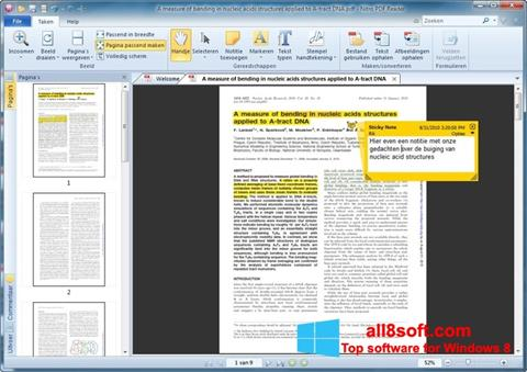 Screenshot Nitro PDF Reader para Windows 8