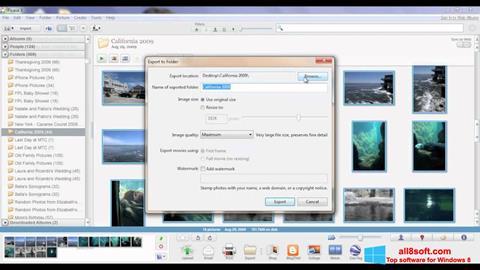 Screenshot Picasa para Windows 8