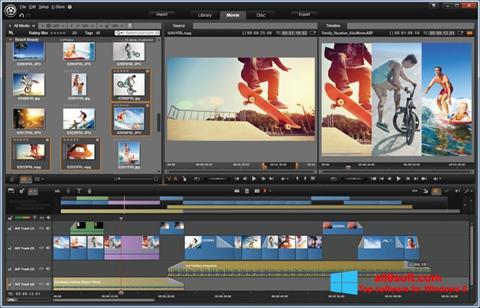 Screenshot Pinnacle Studio para Windows 8