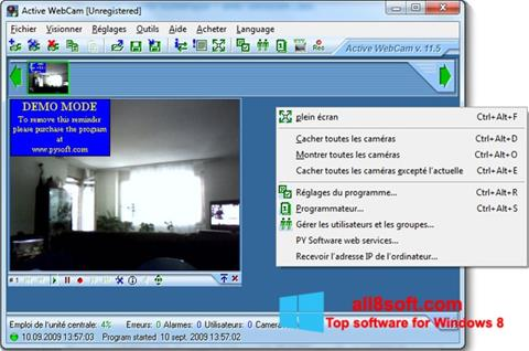 Screenshot Active WebCam para Windows 8