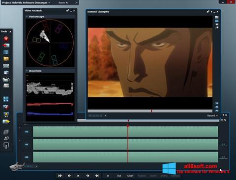 Screenshot Lightworks para Windows 8