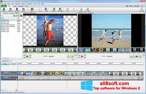 Screenshot VideoPad Video Editor para Windows 8