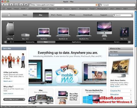 Screenshot Safari para Windows 8