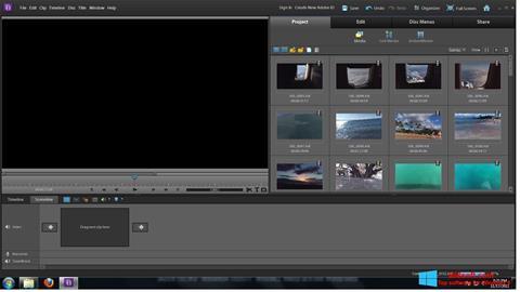 Screenshot Adobe Premiere Elements para Windows 8