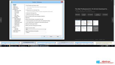 Screenshot The Bat! para Windows 8