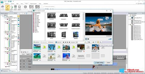 Screenshot VSDC Free Video Editor para Windows 8