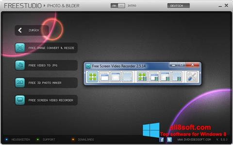 Screenshot Free Studio para Windows 8