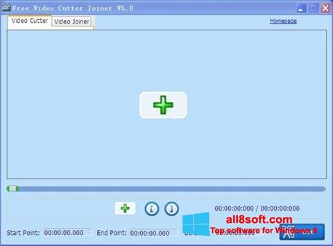 Screenshot Free Video Cutter para Windows 8