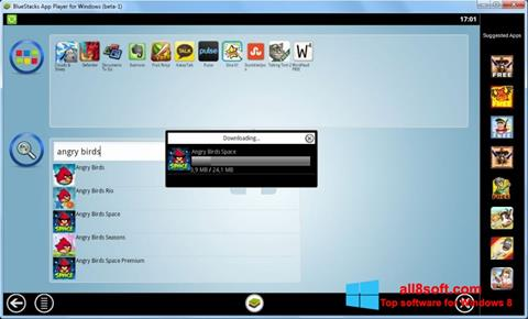 Screenshot BlueStacks para Windows 8
