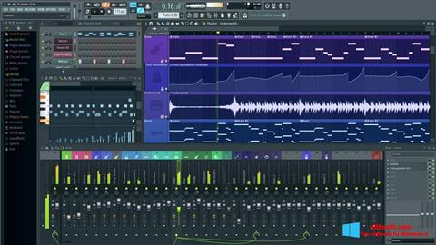 Screenshot FL Studio para Windows 8