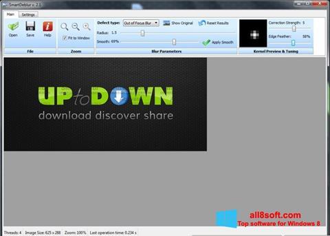 Screenshot SmartDeblur para Windows 8