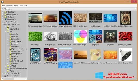 Screenshot IrfanView para Windows 8