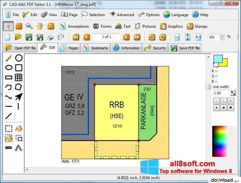 Screenshot PDF Reader para Windows 8