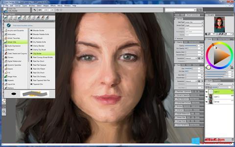 Screenshot Corel Painter para Windows 8