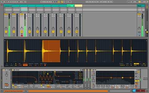Screenshot Ableton Live para Windows 8